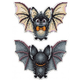 Flying Gentleman Cross Stitch Kit By MP Studia