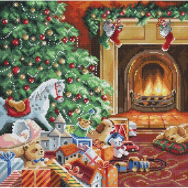 Cosy Christmas Cross Stitch Kit By Letistitch