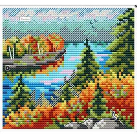 Autumn Forest Cross Stitch Kit By MP Studia