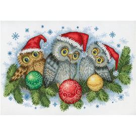Christmas Helpers Cross Stitch Kit By MP Studia