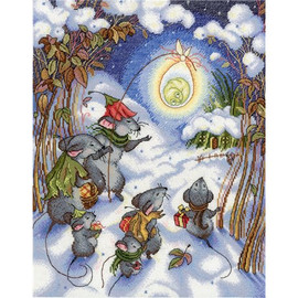 Christmas Time Cross Stitch Kit By MP Studia