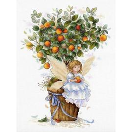 Orange Fairy Cross Stitch Kit By MP Studia