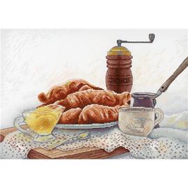 French Breakfast Cross Stitch Kit By MP Studia