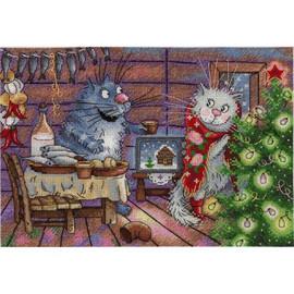 New Years Night Cross Stitch Kit By MP Studia