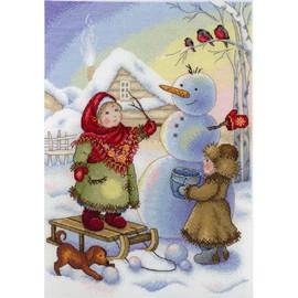 Winter Fun Cross Stitch Kit By MP Studia