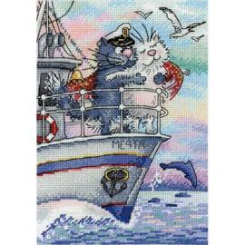 Sea Of Love Cross Stitch Kit By MP Studia