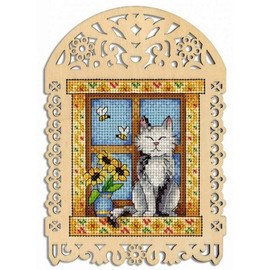 Summer Day Cross Stitch Kit On Plywood By MP Studia
