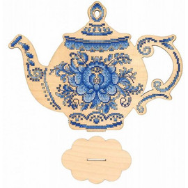 Have A Nice Cup Of Tea Cross Stitch Kit On Plywood By MP Studia