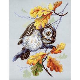 Owl Lookout Cross Stitch Kit By MP Studia