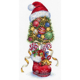 New Year Topiary Cross Stitch Kit By MP Studia