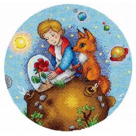 Fairy Prince Cross Stitch Kit By MP Studia