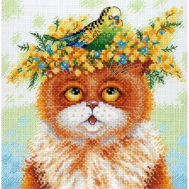The Story Of One Friendship Cross Stitch Kit By MP Studia