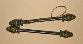 Wooden Bellpull Ends 127mm