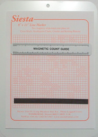 Magnetic Board (8 x 11 inches) with Magnetic Count Guide