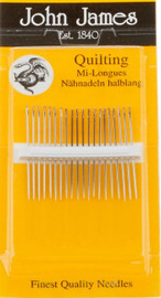 Pack of Quilting Needles. Size 10
