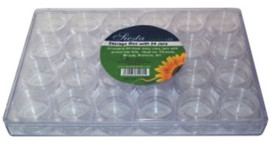 Clear Storage Box with 24 storage boxes