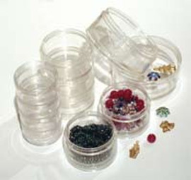 Stacker Jars 5 Jars 50 mm Diameter
