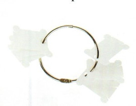 DMC Metal Ring with 28 Plastic Bobbins