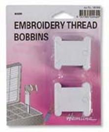 50 Floss Bobbins - Card