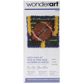 Touch Down Latch Hook Rug Kit