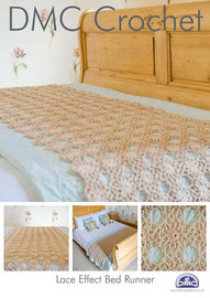 Lace Effect Bed Runner Crochet Pattern Booklet