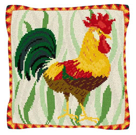 Leghorn Cockerel Tapestry Kit