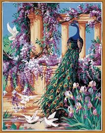 Un coin de Paradis Tapestry Canvas