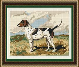 Fox hound Tapestry Kit