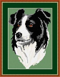Border Collie Tapestry Kit