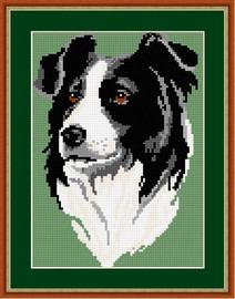 Border Collie Tapestry Kit