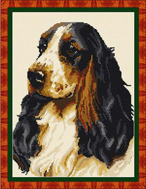 Cocker Spaniel Tapestry Kit