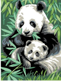 Panda Tapestry Canvas By Anchor