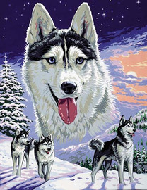 Le seigneur des neiges Tapestry Canvas