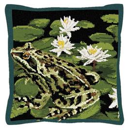 Garden Frog Tapestry Kit