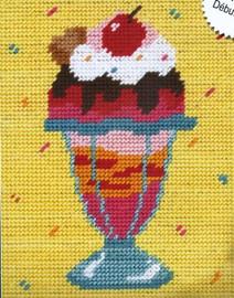 Cherry Top Sundae Starter Tapestry Kit By Anchor