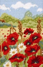 Poppy Fields Tapestry starter Kit