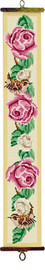 Roses and Wren Tapestry Bell Pull Kit