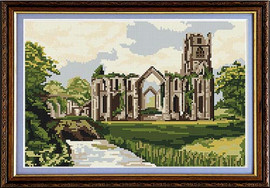 Fountains Abbey Tapestry Kit
