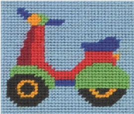 PAUL SCOOTER Tapestry Kit