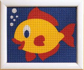 Fish Children Tapestry Kit