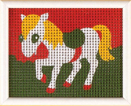 Horse Children Tapestry Kit