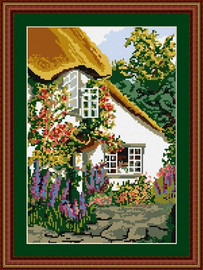 Devon Cottage Tapestry Kit