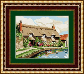 Thornton Le Dale Cottage Tapestry Kit