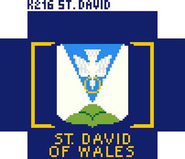 St David Of Wales Tapestry Kit
