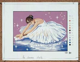 La Danseuse etoile Tapestry Canvas