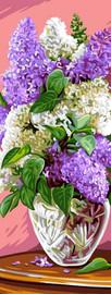 Bouquet de lilas Tapestry Canvas