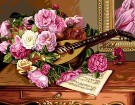 Bouquet de Roses Tapestry Canvas