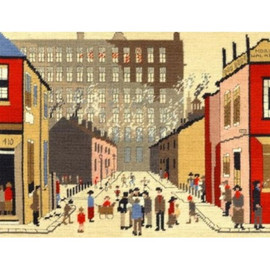 Street Scene Tapestry Kit By Bothy Threads