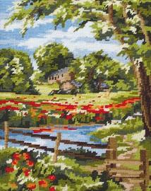 Summer Scene Tapestry Kit
