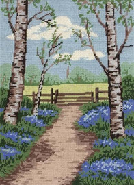 Bluebell Walk Tapestry Kit